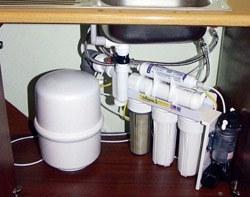 Установка фильтра очистки воды в Тамбове, подключение фильтра для воды в г.Тамбов